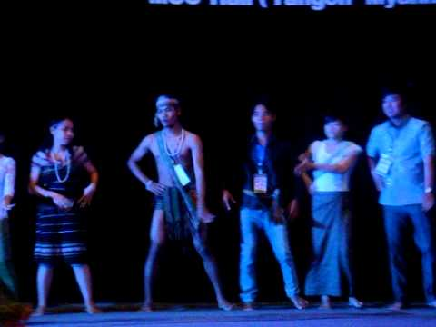 ASEAN Khmer art performance 2014 at Myanmar, Rangoon
