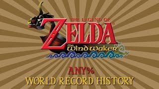 The Wind Waker - Any% Speedrun World Record History
