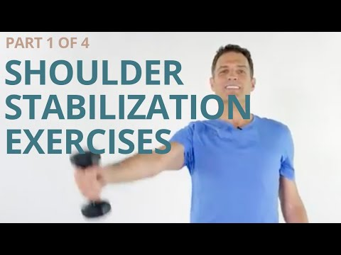 Strong Shoulders 1 of 4 with Scapular Stabilization, Rotator Cuff and Deltoid Strength