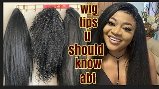 Lace wigs DO'S & DONT | frontal hacks and tips for beginners, how to wear your wig the right way.