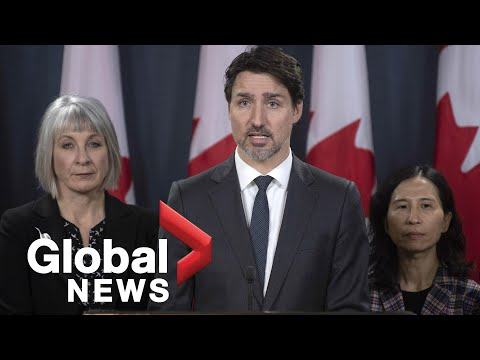 Coronavirus outbreak: Trudeau announces $1 billion CDN national response fund | FULL