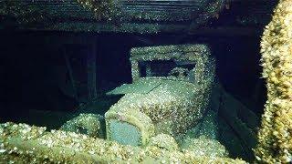 Trovata Una Chevrolet Del 1927  In Una Nave Affondata 90 Anni Fa