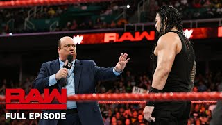 WWE Raw Full Episode, 13 August 2018
