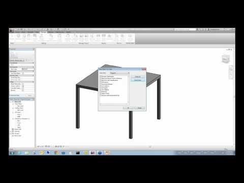 Webinar: Revit Architecture 2012 Furniture