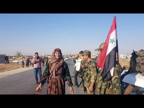 الجيش السوري يدخل عين العرب -كوباني- مدعوما بقوات روسية بموجب اتفاق مع الأكراد  - نشر قبل 4 ساعة