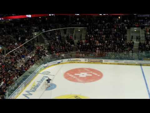 DEL Playoff 2016-2017 - Adler Mannheim - Eisbären Berlin 4-3 (Tor von Plachta)