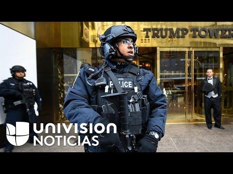 La seguridad de Donald Trump se volvió un dolor de cabeza para Nueva York