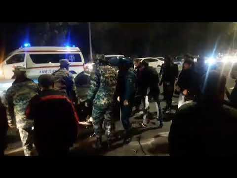 Страшная авария в Ереване