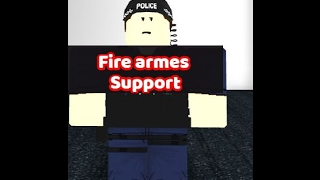 [Roblox city of Cardiff] Uk Policing Firearms Support!