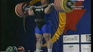 2003 Super-Heavy Clean and Jerk.