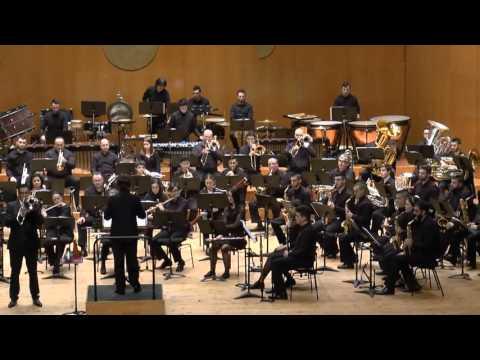2016-02-12 Banda Profesional CMUS + Banda Municipal de Santiago   Concerto para trombón Op  70