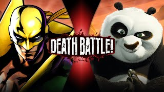 Iron Fist VS Po (Marvel VS Kung Fu Panda) | DEATH BATTLE!