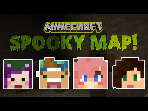 Minecraft Spooky Island Adventure Map w/ Lizzie, Joey & Stacy