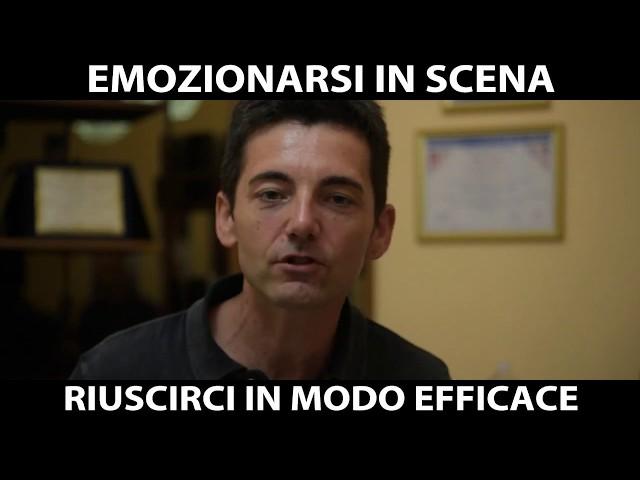 EMOZIONARSI IN SCENA