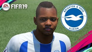 FIFA 19 | BRIGHTON & HOVE PLAYER FACES - Premier League