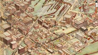 Historic Tour of Kansas City in 1895: Old Map of Kansas City, MO Virtual Tour