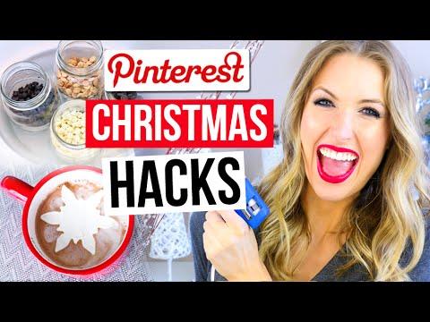 Pinterest Hacks TESTED #7 || CHRISTMAS EDITION