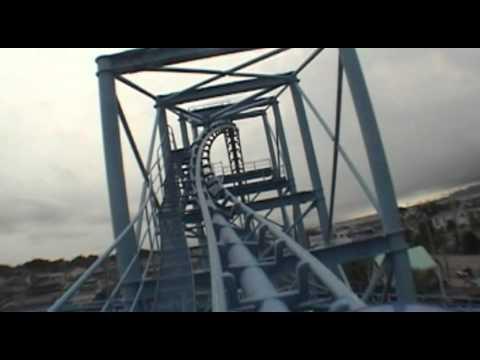 Togo Mega Coaster Looping Roller Coaster Front Seat POV Hamanako Pal Pal Japan