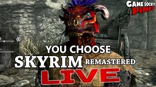 Skyrim Remastered - You Choose What We Do (E02) - GameSocietyPimps