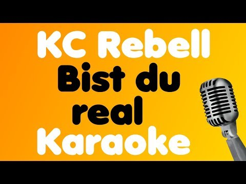 KC Rebell - Bist du real (feat. Moé) - Karaoke