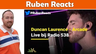 Duncan Laurence - Arcade Acoustic - The Netherlands 🇳🇱 - Eurovision 2019 - Reaction
