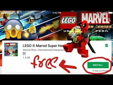 How To Download Lego Marvel Superheroes Mod Apk