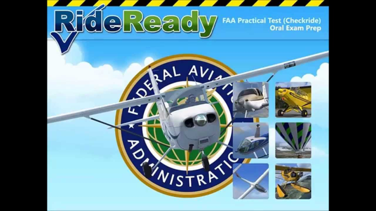 FAA Pracitcal Test (Checkride) Oral Exam Prep - RideReady!