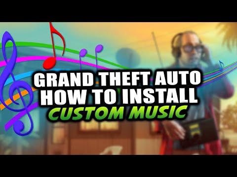 GTA 5 PC - How To Install Custom Music & Radio Stations Into GTA 5! -