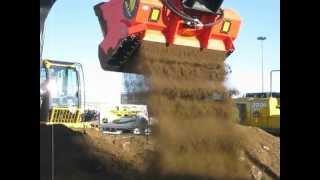 Video still for Screener Crusher Buckets -- Processing Soil/Dirt 1