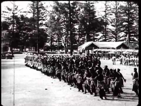 Royal visit to Tonga-1954