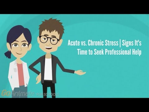Acute Vs. Chronic Stress: Signs It's Time To Seek Professional Help