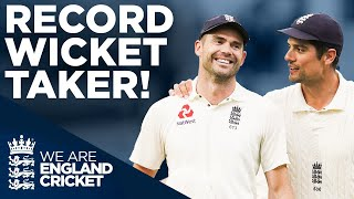 Anderson Breaks McGrath's Record! | Record Pace test Wicket Taker | Jimmy Anderson | England Cricket