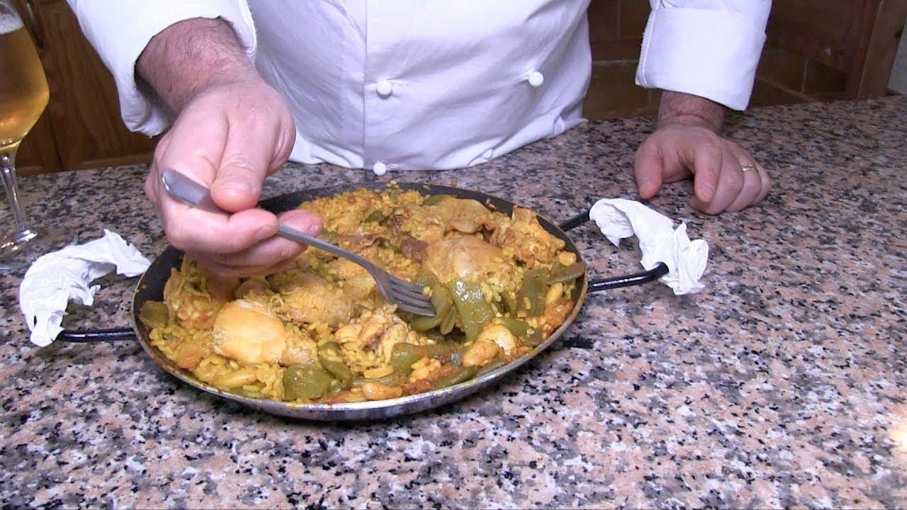 Paella Valenciana, Ricetta Originale - YouTube