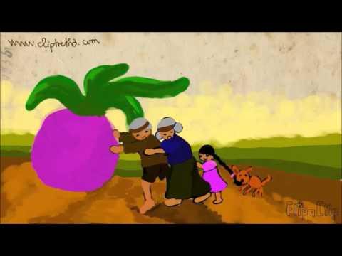 Phim hoạt hình nhổ củ cải_Nhổ củ cải_Nhổ cải lên_cartoon for kids