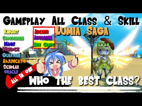 Gameplay All Class, 2ND Job, Skill - Lumia Saga Mobile