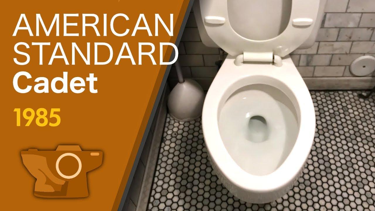 American Standard Cadet Toilet 1984 1986 Comfort Height