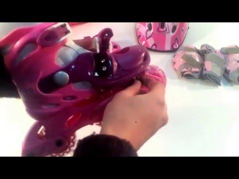 Детские раздвижные роликовые коньки Action PW-120P