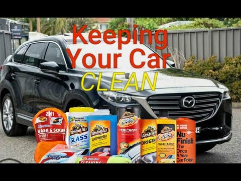 2019 Mazda CX9 GT - Tips on Keeping Your Car Clean