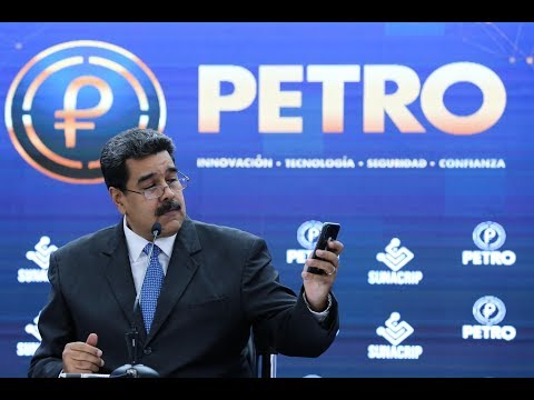 Maduro lanza el Petro como moneda digital para intercambio internacional, 1 octubre 2018