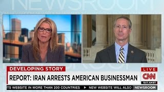 Mac on CNN discussing Iran jailing Americans and the Iranian agreement