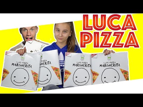 Luca Concrafter  Pizza -  Unboxing - Review & Test !