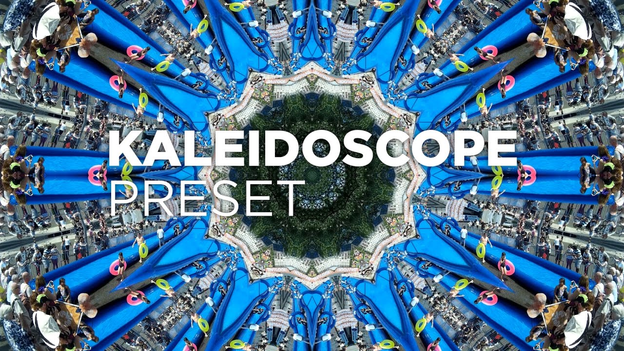 easy kaleidoscope presets tutorial for premiere pro by chung dha