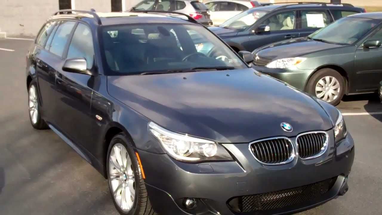 BMW I XDrive Wagon Speed M Sport Manheim Imports YouTube - 2010 bmw 535i