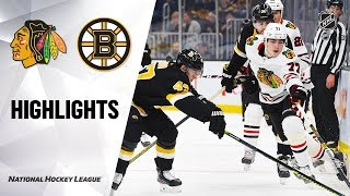 NHL Highlights | Blackhawks @ Bruins 12/5/19