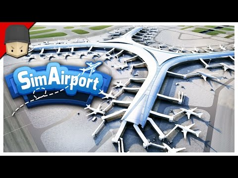 SimAirport - First Impressions & Gameplay (Sim Airport)