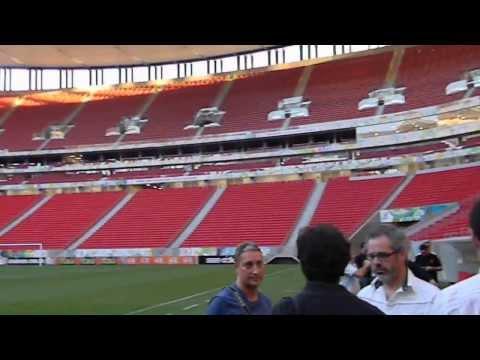 Estadio Mundialista Mané Garrincha de la ciudad de Brasilia