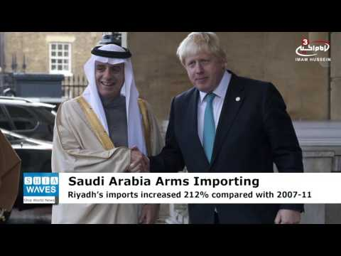 SIPRI Report: Saudi Arabia, world's second-largest arms importer