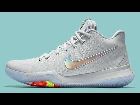 22bbafef36f KYRIE 3 TIME TO SHINE unboxing - YouTube