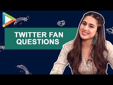 Sara Ali Khan: 鈥淒ream to play a QUEEN in a Sanjay Leela Bhansali film鈥� | Twitter Fan Questions