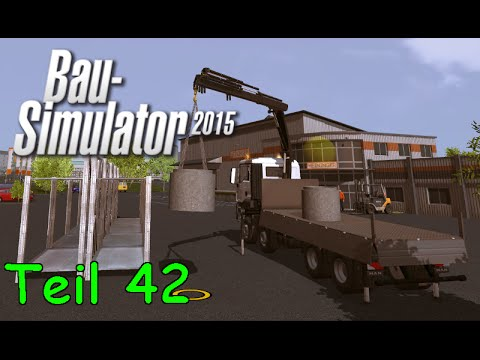 let 39 s play bau simulator 2015 teil 42 modernes haus mit. Black Bedroom Furniture Sets. Home Design Ideas